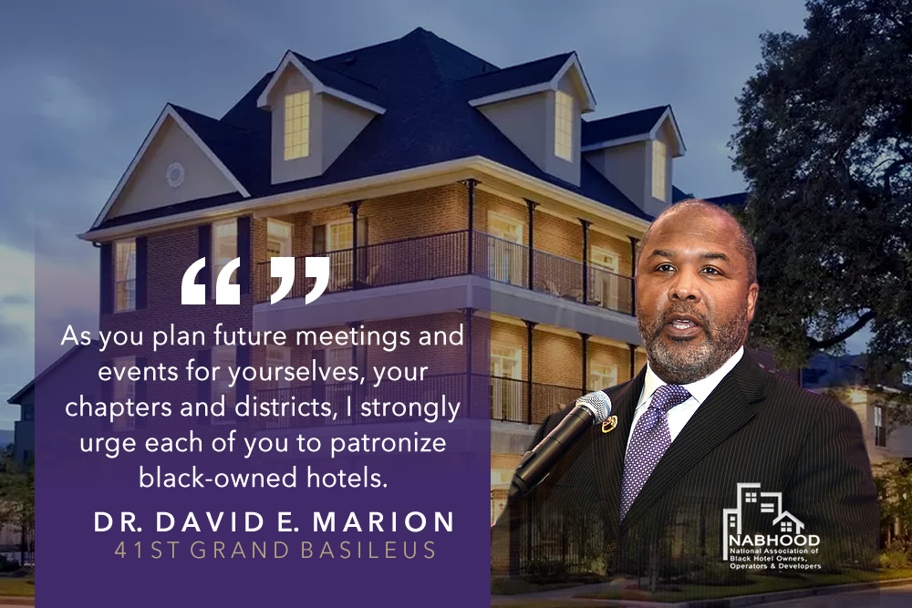 Patronize Black-Owned Hotels